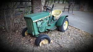 John Deere lawn tractor (Azle)
