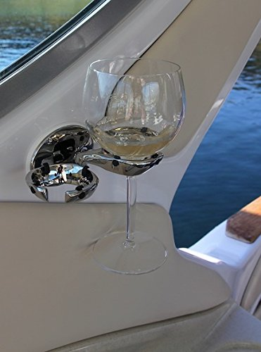 Tallon Stainless Glass Wine Holder