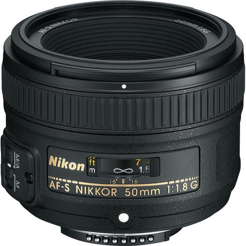 Nikon 50mm f/1.8G AF-S NIKKOR FX Lens for Nikon Digital SLR Cameras +
