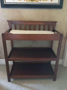 Baby changing table - excellent condition. (Rocklin)