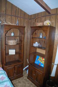 Book shelves (pickerel lake, sd)