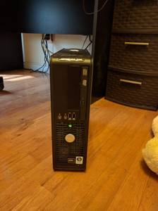Dell Optiplex 740 Desktop Computer - Dual Core, Windows 7