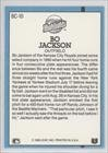 Bo Jackson (Baseball Card) 1991 Donruss Bonus Cards #BC-10