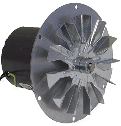 Pellet Stove Blower Motor, 1/14hp, 3000RPM, 0.6 amps. 115 Volt Rotom Replacement