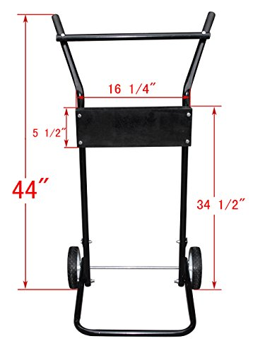 TMSÂ 85 Lb 15hp Outboard Boat Small Motor Stand Light Duty Carrier Cart Dolly