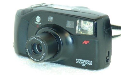 Minolta Freedom Zoom 90ex Qd 35mm Film Camera W/minolta Lens Zoom 38-90mm