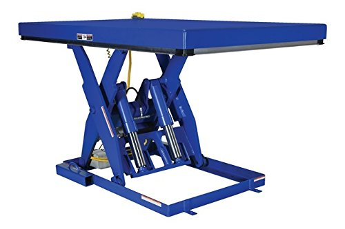 Vestil EHLT-4872-6-44 Electric Hydraulic Lift Table, 6000 lb., 8