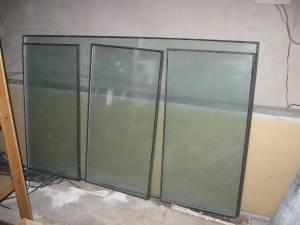 Aluminum double paned windows & Ducting (North Seattle)