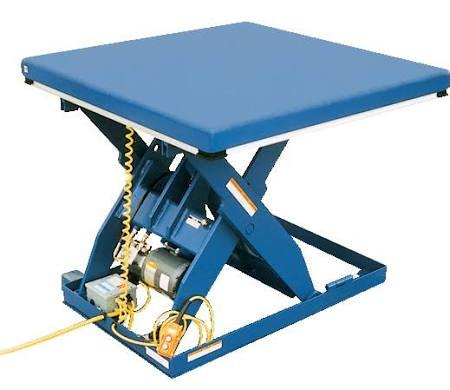 Vestil EHLT-4872-5-44 Electric Hydraulic Lift Table, 5000 lb., 8