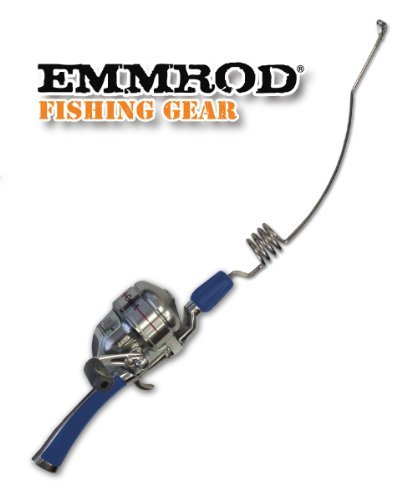 Emmrod Packer Fishing Combo 4 Coil Casting Pole w/ Shakespeare Reel (BLUE