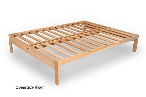 Nomad-2 Platform Bed Frame - Solid hardwood (King)