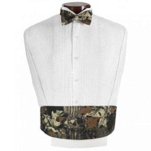 Mossy Oak Camouflage Tuxedo Cummerbund and Bow Tie