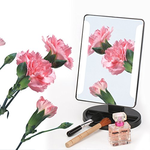 Make Up Mirror Dimmable Lighted, Showpin Touch Screen Vanity Mirror