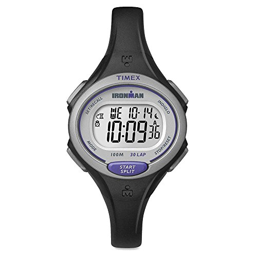 TIMEX Ironman Essential 30-Lap Mid Size Watch, Black