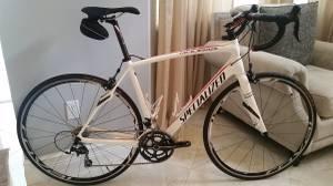56cm 2014 Specialized Roubaix SL4 Elite Full Carbon Road Bike Shimano (Pembroke
