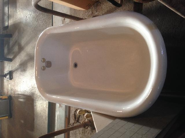 4 1/2' Antique Cast Iron Claw Foot Tub