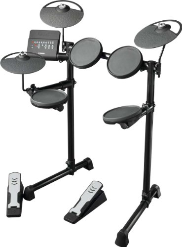 Yamaha DTX400K 5-Piece Electronic Drum Kit and SR950 Headphone Package