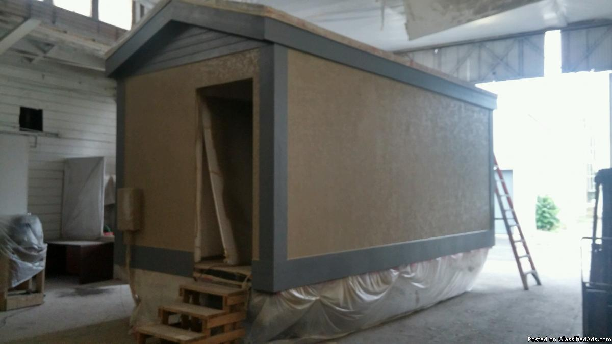 Grow Trailer - 20' x 10' Flexible Concrete Super Insulated Shell