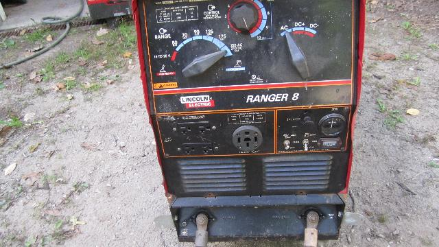 Portable Gas Powered Welder/Generator