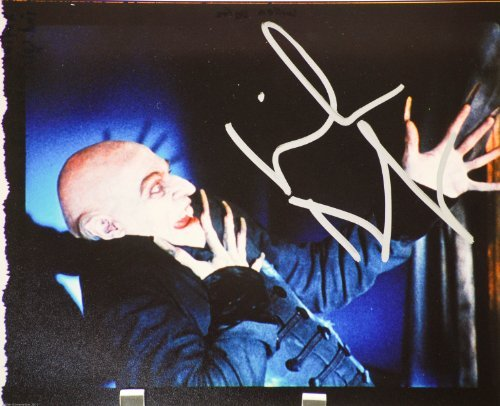Willem Dafoe Autographed 8x10 Color Photograph - From Shadow of the Vampire -