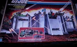 Gi Joe 1980's Headquarters Command Center in box (Cranston)