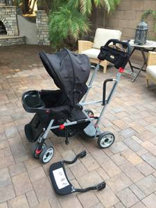 Joovy Caboose Tandem - Double Stroller, Excellent Condition (Ahwatukee)