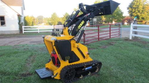 New LHD Stand on Skid Steer