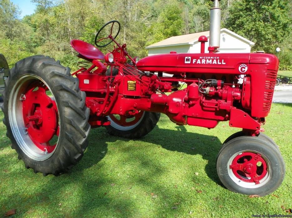 1951 Farmall Tractor Super C