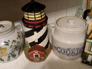 cookie jars (Turtle Lake)