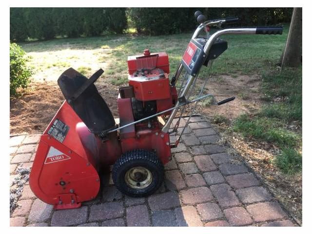 Toro 724 Snowblower