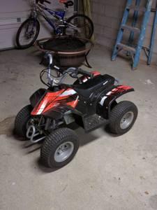 Electric Razor Dirt Quad - 4 Wheeler (Pawtucket)