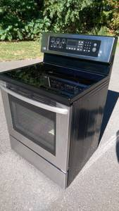 Barter Items - Stainless Stove, Gas Log Set (Ellington)