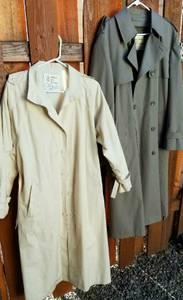 Overcoats/ Rain Coats London Fog (close in Se)