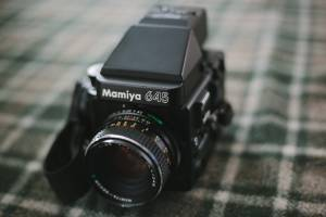 Mamiya 645 Super medium format camera (Washougal)