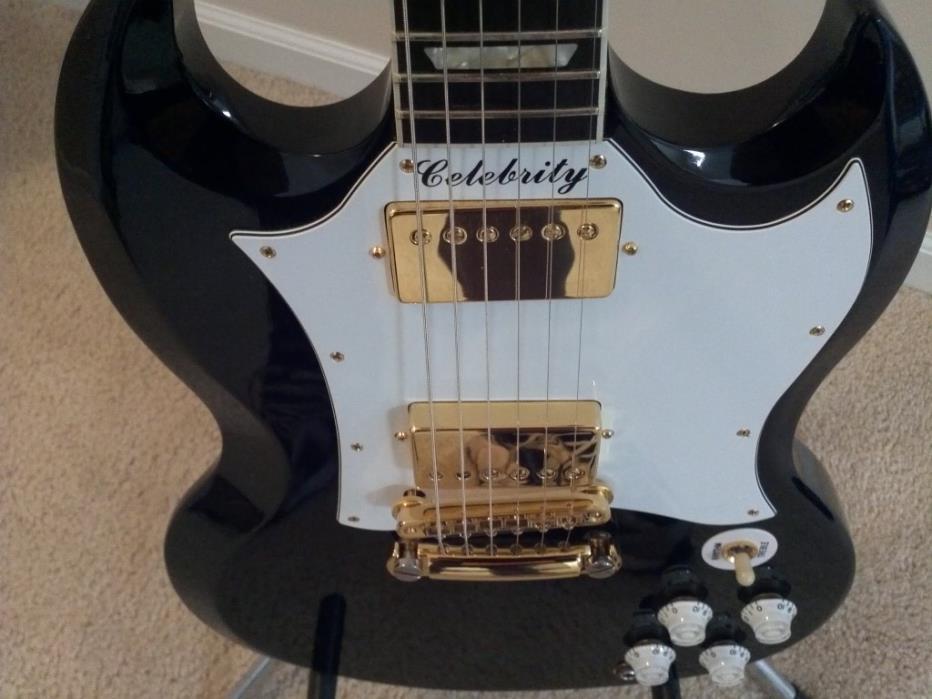 Rare Gibson SG Celebrity electric guitar