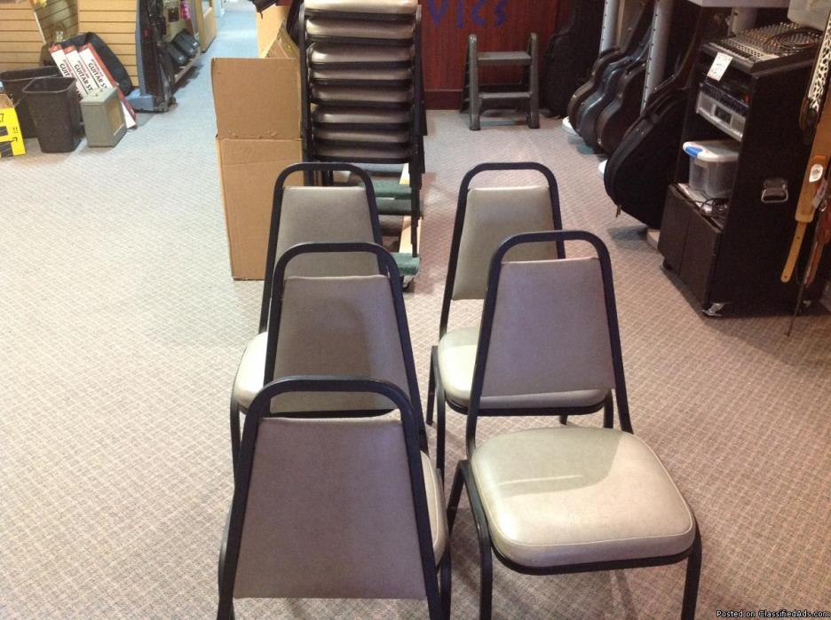 Langcaster Banquet Stackable Chairs