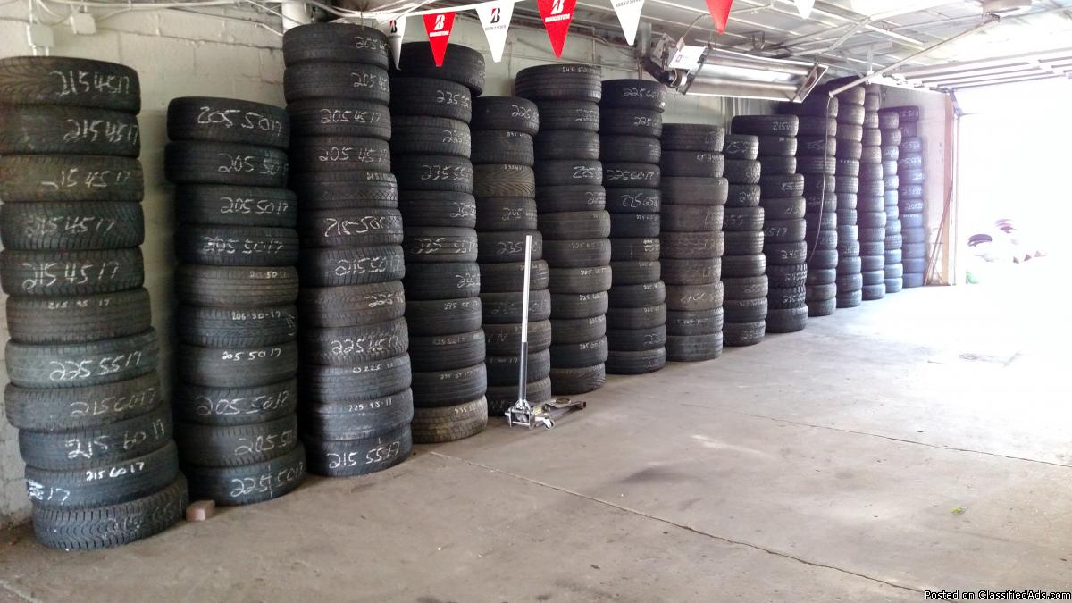 USED TIRES HUGE SELECTION