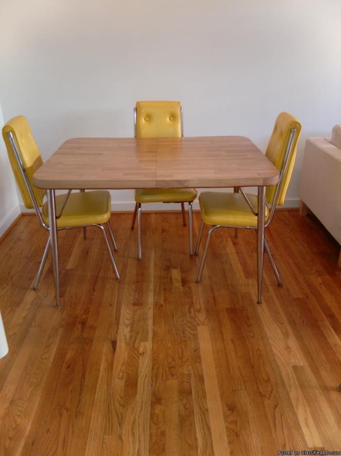 Retro Chrome Kitchen Chairs For Sale Classifieds