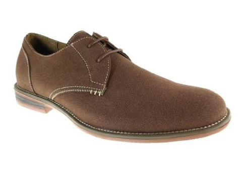 Ferro Aldo Men's Round Toe Suedette Oxford Shoes