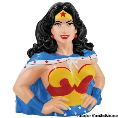 Wonder Woman Cookie Jar