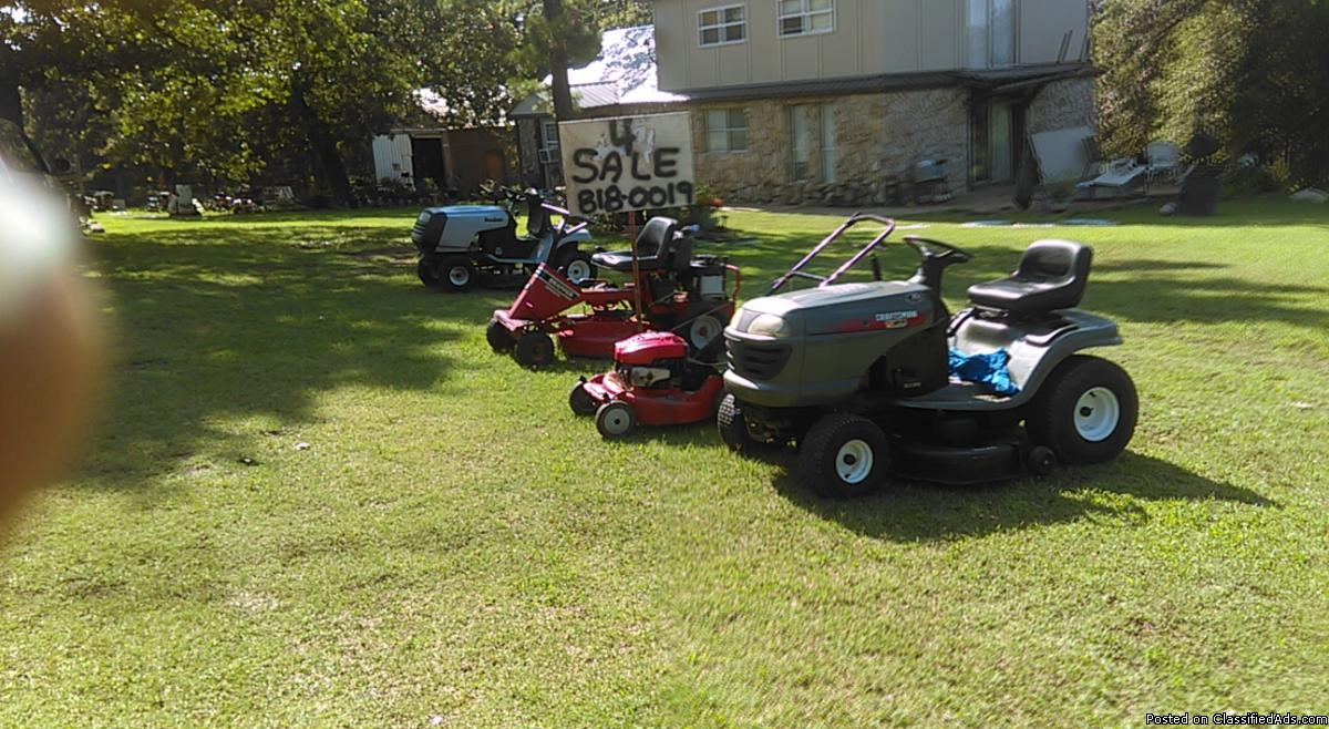 good used riding mower