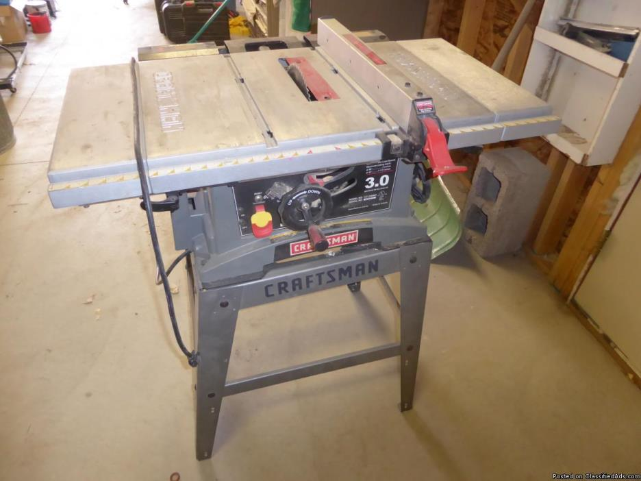 Tools Table Saw For Sale Classifieds