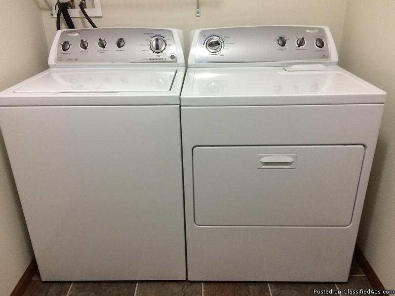 Whirlpool Washer Dryer For Sale Classifieds