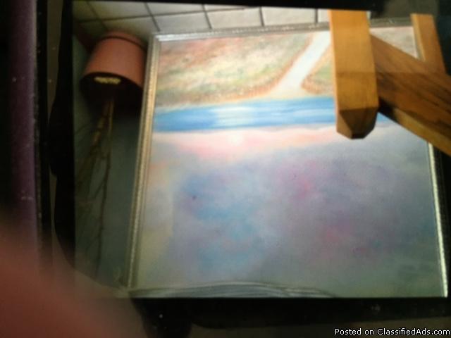 54x54 ocean/oil painting
