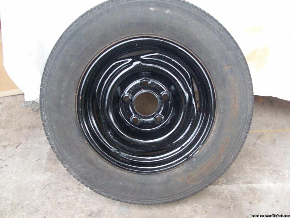 used tire:  CHECK OUT NEW PRICE. 9/12