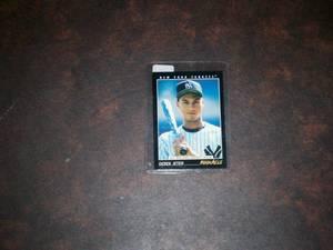 1993 Pinnacle Derek Jeter Rookie Card (Hatfield)