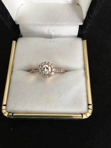 Custom Rose Gold Engagement Ring (Phenix City)