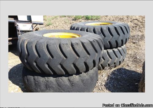 0 Toyo Scraper Tires
