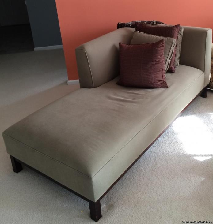 Crate & Barrel Chaise Lounge