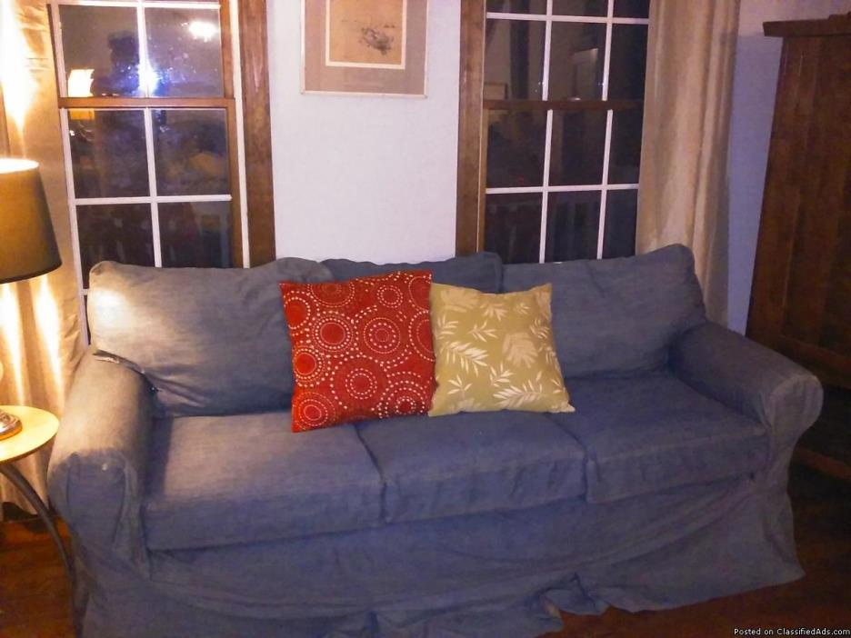 pottery barn sofa slipcovers for sale classifieds. Black Bedroom Furniture Sets. Home Design Ideas